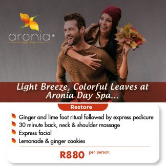 Aronia Day Spa march promo special offers 01