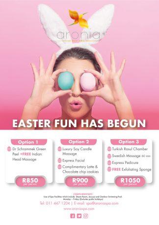 Easter Spa Promotion