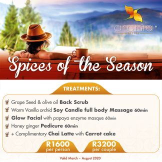 Aronia day spa promotions packages joburg