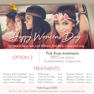 Aronia Day Spa Happy Womens Spa Day 2020