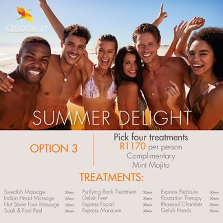 summer delight spa package 2020 johannesburg