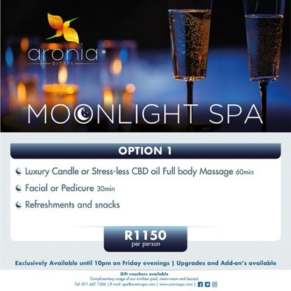 Aronia Day Spa Friday Moonlight 2020 option 1