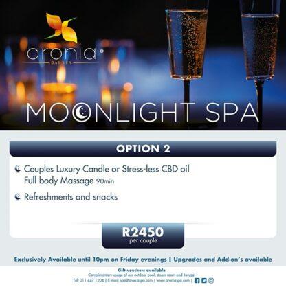 Aronia Day Spa Friday Moonlight 2020 option 2