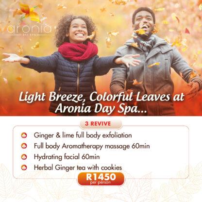 Autumn Aronia day spa Special promotion
